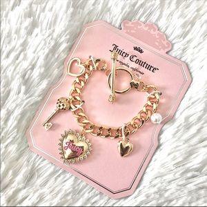 NWT JUICY COUTURE bracelet charm bracelet
